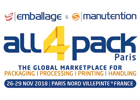 Salon emballage all4pack 2018 Paris PDG Plastiques